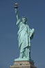The Statue of Liberty, New York Harbor. Statue of Liberty National Monument, New York City, New York, USA. Image #11084