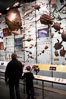Visitors admire hundreds of species at the Hall of Biodiversity, American Museum of Natural History. American Museum of Natural History, New York City, New York, USA. Image #11220