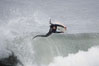 Milo Rodriguez catches air.  The Wedge. The Wedge, Newport Beach, California, USA. Image #14203