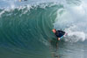 September swell at the Wedge. The Wedge, Newport Beach, California, USA. Image #14414