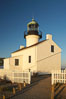 The old Point Loma lighthouse operated from 1855 to 1891 above the entrance to San Diego Bay.  It is now a maintained by the National Park Service and is part of Cabrillo National Monument. California, USA. Image #14521
