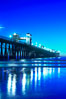 Oceanside Pier at dusk, sunset, night.  Oceanside. Oceanside Pier, Oceanside, California, USA. Image #14634