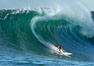 Brock Little, final round, Mavericks surf contest (third place), February 7, 2006. Mavericks, Half Moon Bay, California, USA. Image #15300