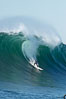 Evan Slater, final round, Mavericks surf contest (fifth place), February 7, 2006. Mavericks, Half Moon Bay, California, USA. Image #15302