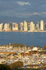 San Diego harbor skyline, late afternoon. California, USA. Image #15673