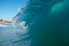 Wave breaking, tube, Newport Beach. Newport Beach, California, USA. Image #16806