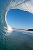 Close out wave, Ponto, South Carlsbad, morning surf. California, USA. Image #17827