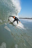 Ponto, South Carlsbad, morning surf. Ponto, Carlsbad, California, USA. Image #17854