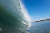 Ponto, South Carlsbad, morning surf. Ponto, Carlsbad, California, USA. Image #17863