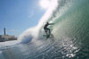 Kyle Cannon, Jetties, Carlsbad, morning surf. Warm Water Jetties, Carlsbad, California, USA. Image #17906
