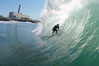Jetties, Carlsbad, morning surf. Warm Water Jetties, Carlsbad, California, USA. Image #17910