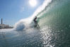 Jetties, Carlsbad, morning surf. Warm Water Jetties, Carlsbad, California, USA. Image #17916