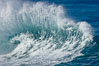 Wave and backwash spray. La Jolla, California, USA. Image #18286