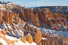 Bryce Canyon hoodoos line all sides of the Bryce Amphitheatre. Bryce Canyon National Park, Utah, USA. Image #18614