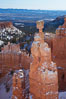 Bryce Canyon hoodoos line all sides of the Bryce Amphitheatre. Bryce Canyon National Park, Utah, USA. Image #18616