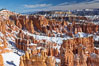 Bryce Canyon hoodoos line all sides of the Bryce Amphitheatre. Bryce Canyon National Park, Utah, USA. Image #18620