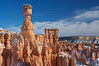 Bryce Canyon hoodoos line all sides of the Bryce Amphitheatre. Bryce Canyon National Park, Utah, USA. Image #18630