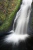 Bridal Veil Falls, a 140 foot fall in the Columbia River Gorge, is not to be confused with the more famous Bridalveil Falls in Yosemite National Park. Bridal Veil Falls, Columbia River Gorge National Scenic Area, Oregon, USA. Image #19332