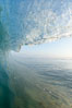 Breaking wave, early morning surf. Ponto, Carlsbad, California, USA. Image #19411