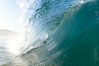 Breaking wave, early morning surf. Ponto, Carlsbad, California, USA. Image #19413