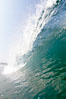 Breaking wave, morning surf, curl, tube. Ponto, Carlsbad, California, USA. Image #20889