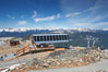 Lift station at the summit of Whistler Mountain. Whistler, British Columbia, Canada. Image #21013