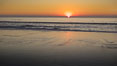 Moonlight Beach at sunset. Moonlight Beach, Encinitas, California, USA. Image #21795