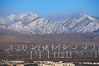 Wind turbines and Mount San Gorgonio Pass, near Interstate 10, provide electricity to Palm Springs and the Coachella Valley. San Gorgonio Pass, Palm Springs, California, USA. Image #22236