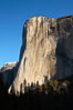 El Capitan eastern face, sunrise. El Capitan, Yosemite National Park, California, USA. Image #22745
