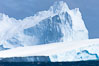 Iceberg detail, at sea among the South Orkney Islands. Coronation Island, South Orkney Islands, Southern Ocean. Image #24795