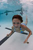 Young girl swimming in a pool. Image #25289
