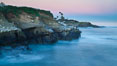 Point La Jolla at dawn. California, USA. Image #26445