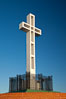 The Mount Soledad Cross, a landmark in La Jolla, California. The Mount Soledad Cross is a 29-foot-tall cross erected in 1954. La Jolla, California, USA. Image #26547
