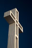 The Mount Soledad Cross, a landmark in La Jolla, California. The Mount Soledad Cross is a 29-foot-tall cross erected in 1954. La Jolla, California, USA. Image #26550