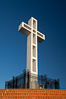 The Mount Soledad Cross, a landmark in La Jolla, California. The Mount Soledad Cross is a 29-foot-tall cross erected in 1954. La Jolla, California, USA. Image #26551