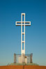 The Mount Soledad Cross, a landmark in La Jolla, California. The Mount Soledad Cross is a 29-foot-tall cross erected in 1954. La Jolla, California, USA. Image #26552