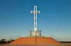 The Mount Soledad Cross, a landmark in La Jolla, California. The Mount Soledad Cross is a 29-foot-tall cross erected in 1954. La Jolla, California, USA. Image #26553