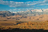 Sierra Nevada mountain range viewed from Volcanic Tablelands, near Bishop, California. Bishop, California, USA. Image #26984