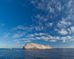 Las Animas island, southern Sea of Cortez near La Paz, Baja California, Mexico. Sea of Cortez, Baja California, Mexico. Image #27367