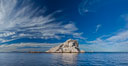 Las Animas island, southern Sea of Cortez near La Paz, Baja California, Mexico. Sea of Cortez, Baja California, Mexico. Image #27374