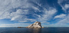 Las Animas island, southern Sea of Cortez near La Paz, Baja California, Mexico. Sea of Cortez, Baja California, Mexico. Image #27375