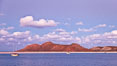Beautiful Sea of Cortez sunset view, near La Paz, Baja California, Mexico. Sea of Cortez, Baja California, Mexico. Image #27582