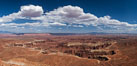 Canyonlands National Park panorama. Canyonlands National Park, Utah, USA. Image #27817