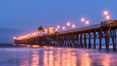 Oceanside Pier at Dawn. California, USA. Image #28876