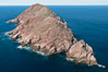 North Coronado Island, Mexico, southern point looking north, aerial photograph. Coronado Islands (Islas Coronado), Baja California. Image #29053