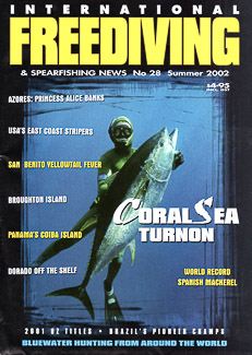 Cover of International Freediving