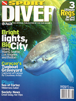 Cover of Sport Diver Magazine