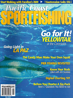 Cover of Pacific Coast Sportfishing