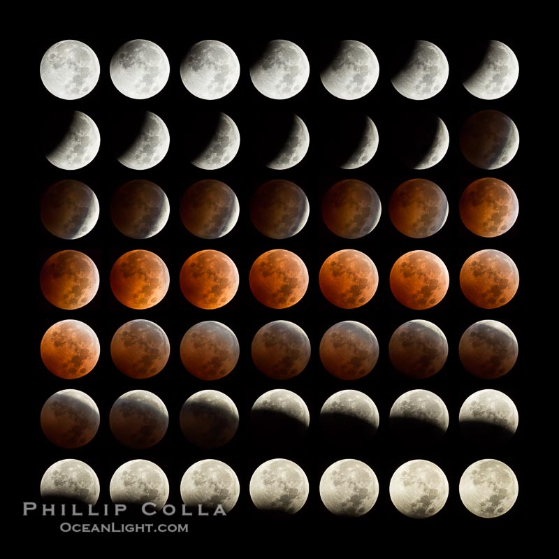 Lunar Eclipse Sequence October 8 2014