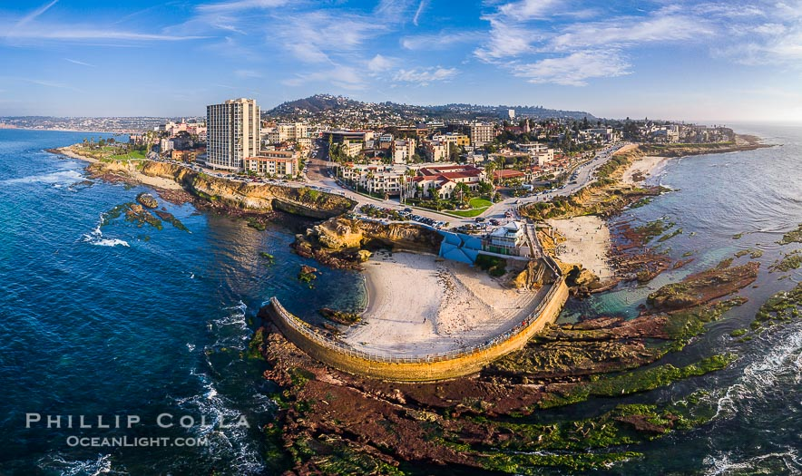 Eleven Great Aerial Photographs of the La Jolla Coast in San Diego